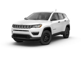 2017 Jeep Compass SUV White Clear-Coat Exterior Paint