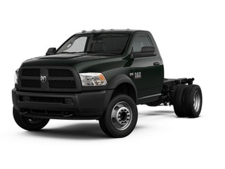 2017 Ram 4500 Chassis Truck Black Forest Green Pearlcoat