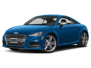 2017 Audi TTS Coupe Ara Blue Crystal Effect