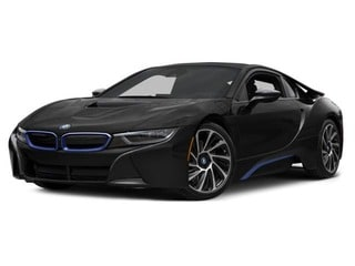 2017 BMW i8 Coupe Sophisto Gray Metallic w/BMW i Frozen Blue Accent