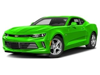 2017 Chevrolet Camaro Coupe Krypton Green
