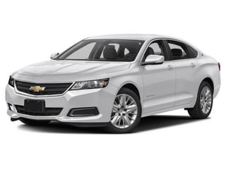 2017 Chevrolet Impala Sedan Summit White