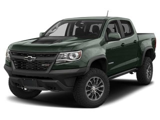 2017 Chevrolet Colorado Truck Deepwood Green Metallic