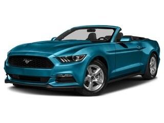 2017 Ford Mustang Convertible Lightning Blue Metallic