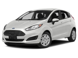 2017 Ford Fiesta Hatchback White Platinum Metallic Tri-Coat