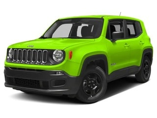 2017 Jeep Renegade SUV Hypergreen Clearcoat