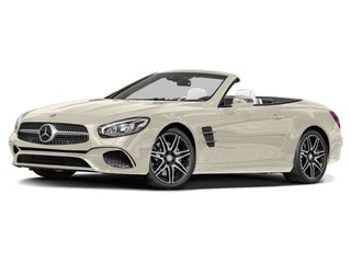 2017 Mercedes-Benz SL 450 Roadster designo Diamond White Metallic