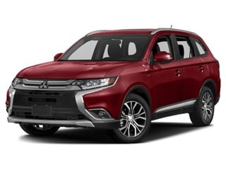 2017 Mitsubishi Outlander SUV Rally Red Metallic
