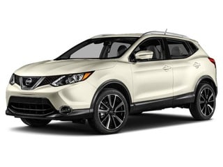 2017 Nissan Rogue Sport SUV Pearl White