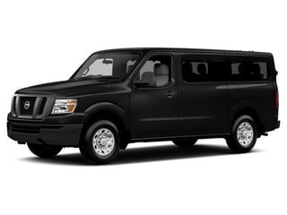 2017 Nissan NV Passenger NV3500 HD Van Super Black