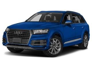 2018 Audi Q7 SUV Galaxy Blue Metallic