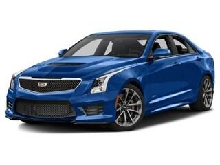 2018 CADILLAC ATS-V Sedan Vector Blue Metallic