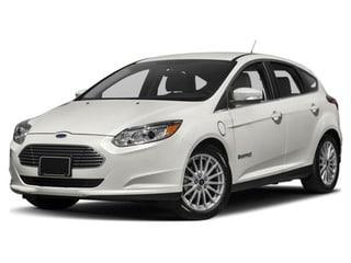 2018 Ford Focus Electric Hatchback White Platinum Metallic Tri-Coat