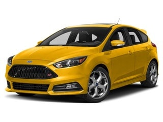 2018 Ford Focus ST Hatchback Triple Yellow Metallic Tri-Coat