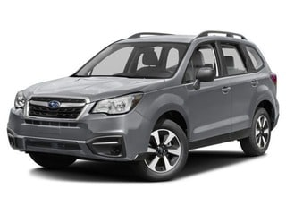 2018 Subaru Forester SUV Ice Silver Metallic