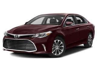 2018 Toyota Avalon Sedan Sizzling Crimson Mica