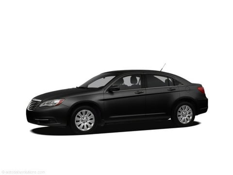2011 Chrysler 200 Sedan Black Clearcoat