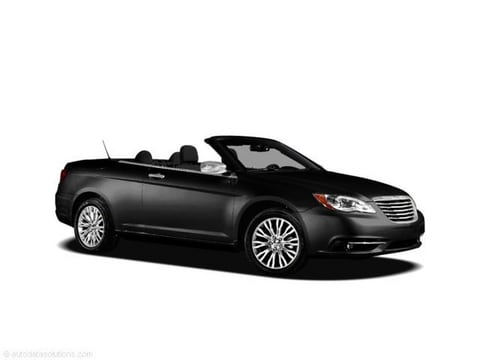 2011 Chrysler 200 Convertible Black Clearcoat