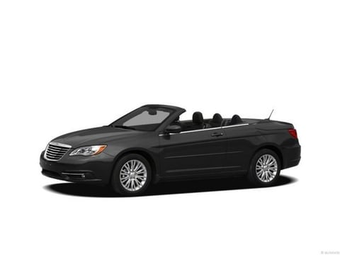 2012 Chrysler 200 Convertible Black Clearcoat