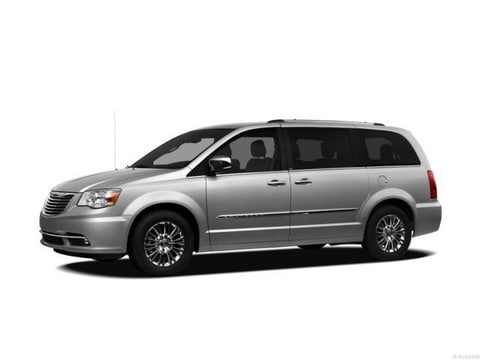 2012 Chrysler Town & Country Van Bright Silver Metallic Clearcoat