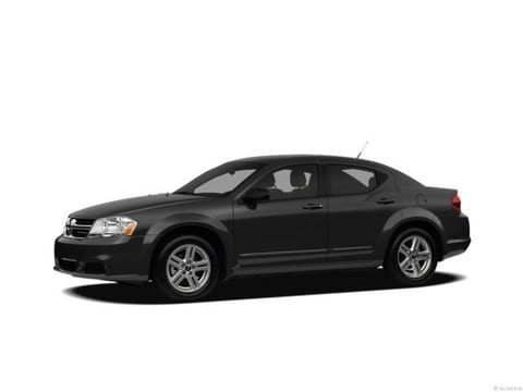 2012 Dodge Avenger Sedan Black Clearcoat