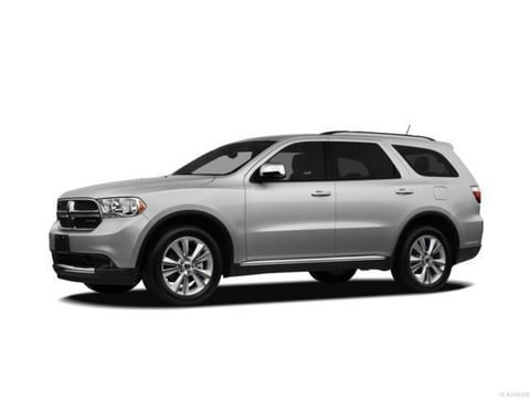 2012 Dodge Durango SUV Bright Silver Metallic Clearcoat