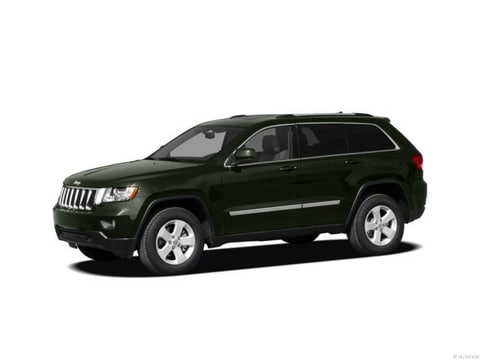 2012 Jeep Grand Cherokee SUV Black Forest Green Pearlcoat