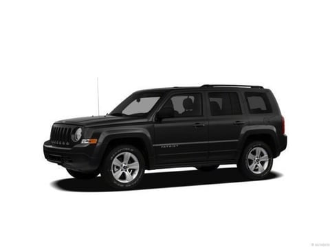 2012 Jeep Patriot SUV Black Clearcoat