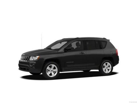 2012 Jeep Compass SUV Black Clearcoat