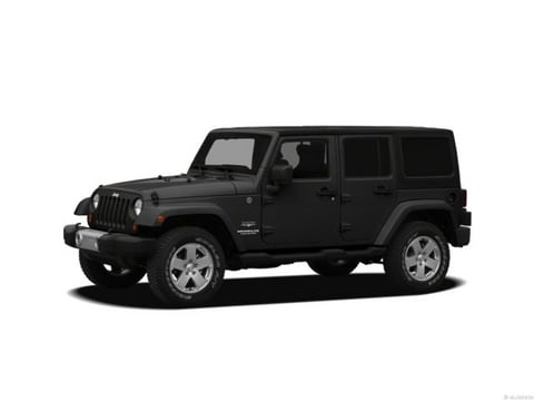 2012 Jeep Wrangler Unlimited SUV Black Clearcoat