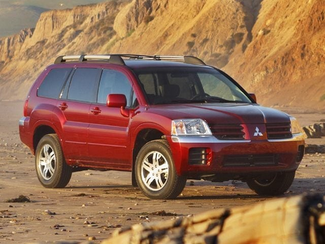 mitsubishi endeavor ls  suv  jd power