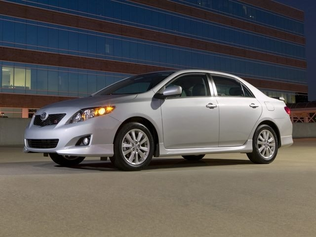2010 Toyota Corolla Le. The 2010 Toyota Corolla from