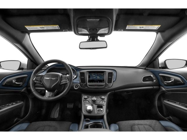 Luxurious interior of a Chrysler 200 vehicle