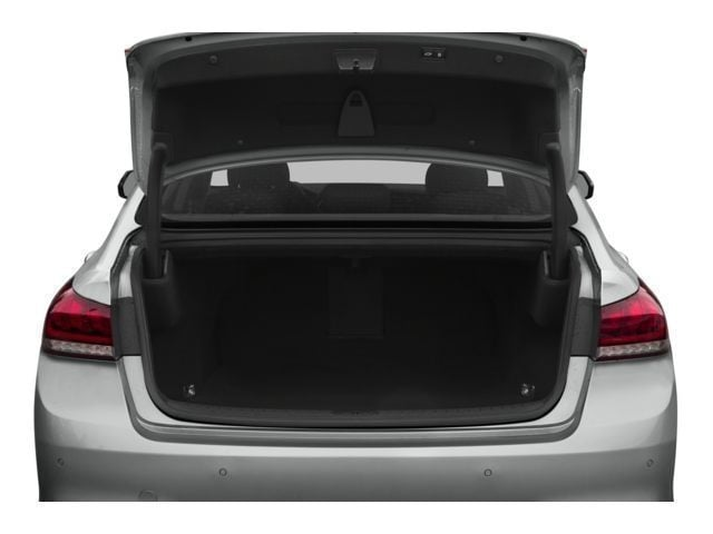 Trunk of the new Hyundai Genesis in Rocky Mount