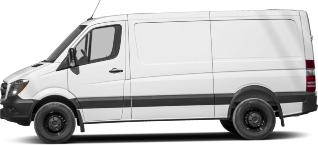 2016 Mercedes-Benz Sprinter Van High Roof Worker Cargo