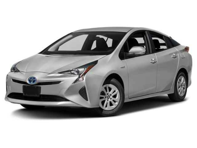 Front view of Toyota Prius for sale in Detroit area