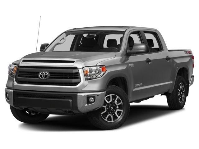 2016 Toyota Tundra SR5 5.7L V8 w/FFV TSS Black Special Edition Truck CrewMax