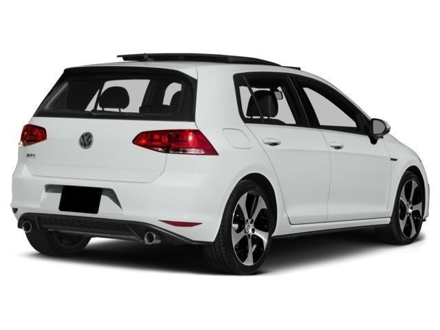 new 2016 volkswagen golf gti hatchback autobahn w performance package 4 door pure white for sale. Black Bedroom Furniture Sets. Home Design Ideas