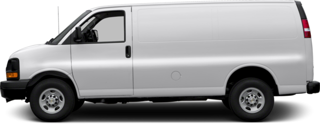 2017 Chevrolet Express 2500 Van Work Van