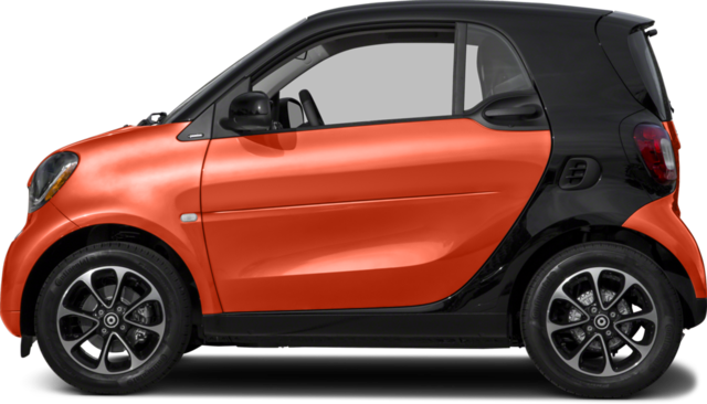 2017 smart fortwo Coupe pure