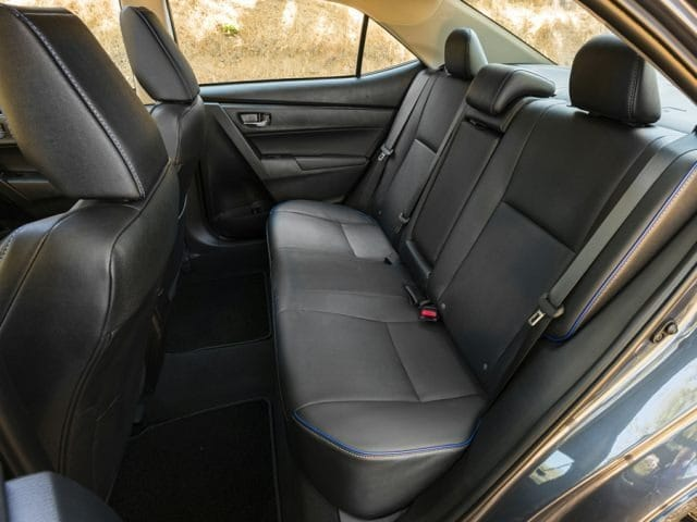 toyota corolla backseat
