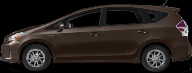 2017 Toyota Prius v Wagon Three