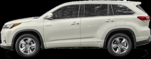 2017 Toyota Highlander Hybrid SUV XLE V6