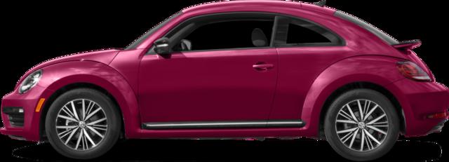 2017 Volkswagen Beetle Hatchback 1.8T Pink