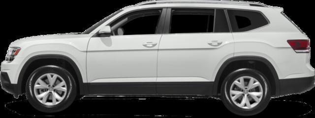 2018 Volkswagen Atlas SUV 3.6L V6 Launch Edition