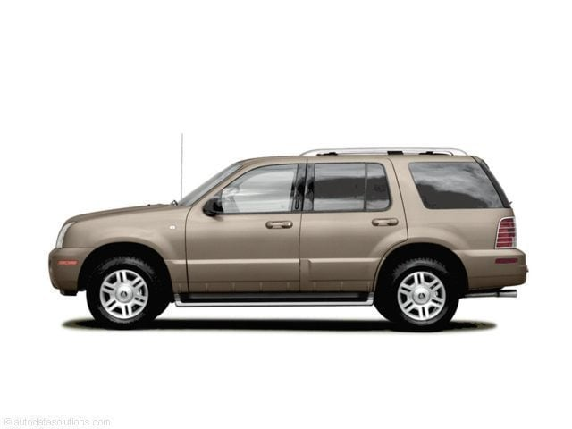 2004 mercury mountaineer 4 0l v6 convenience 100a suv. Black Bedroom Furniture Sets. Home Design Ideas
