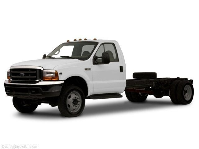 2001 Ford F-550 Chassis Truck Regular Cab