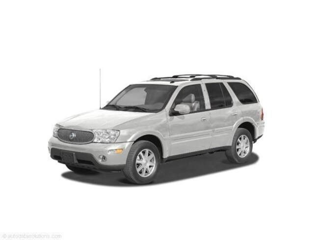 2004 Buick Rainier White