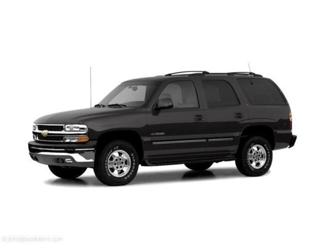 2004 Chevrolet Tahoe Special Service 4dr 4WD Sport Utility