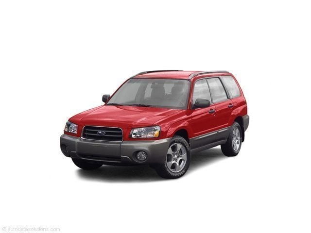 Used 2004 Subaru Forester 2.5 XT w/Premium Package & Leather SUV near Bangor